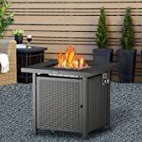 TACKLIFE Gas Fire Table, Auto-Ignition Outdoor