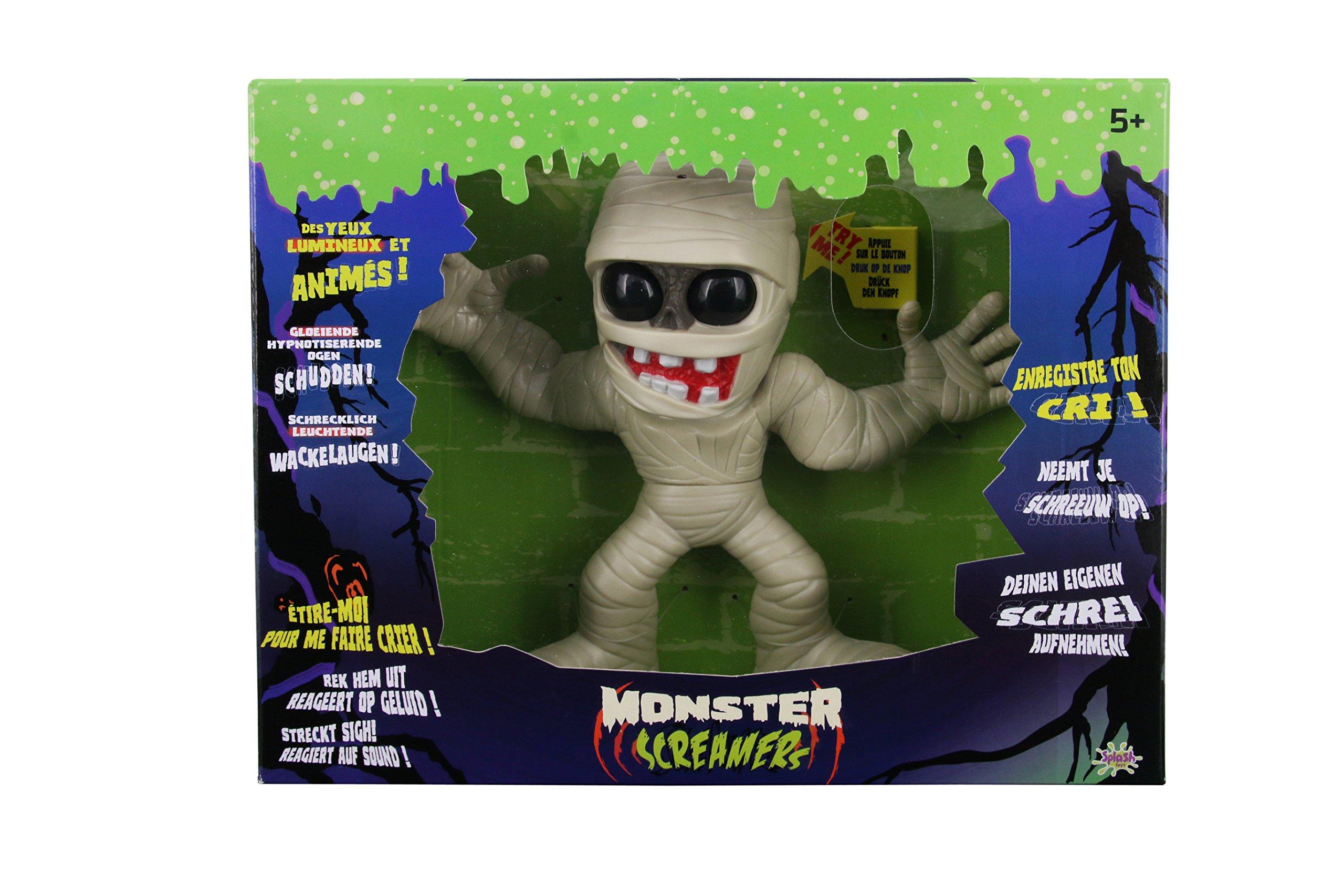 Splash Toys - 30659 - Monster Screamers Mummy - Le monstre Momie qui s'étire un max ! product image
