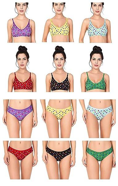 Nityakshi Bra Panty Set for Women Cotton  3ca1c2821