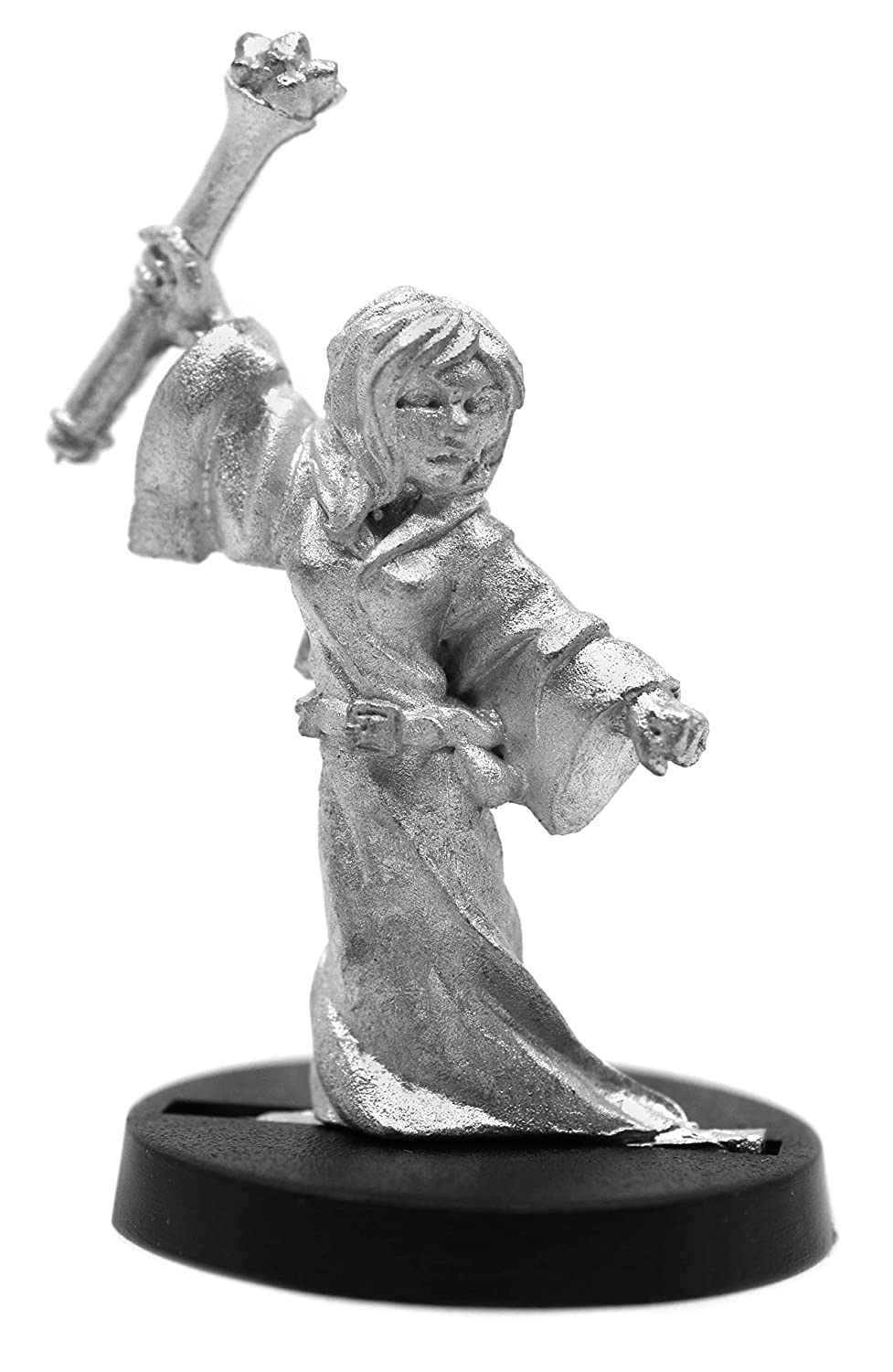 Made in US Stonehaven Female Human Apprentice Miniature Figure for 28mm Scale Table Top War Games