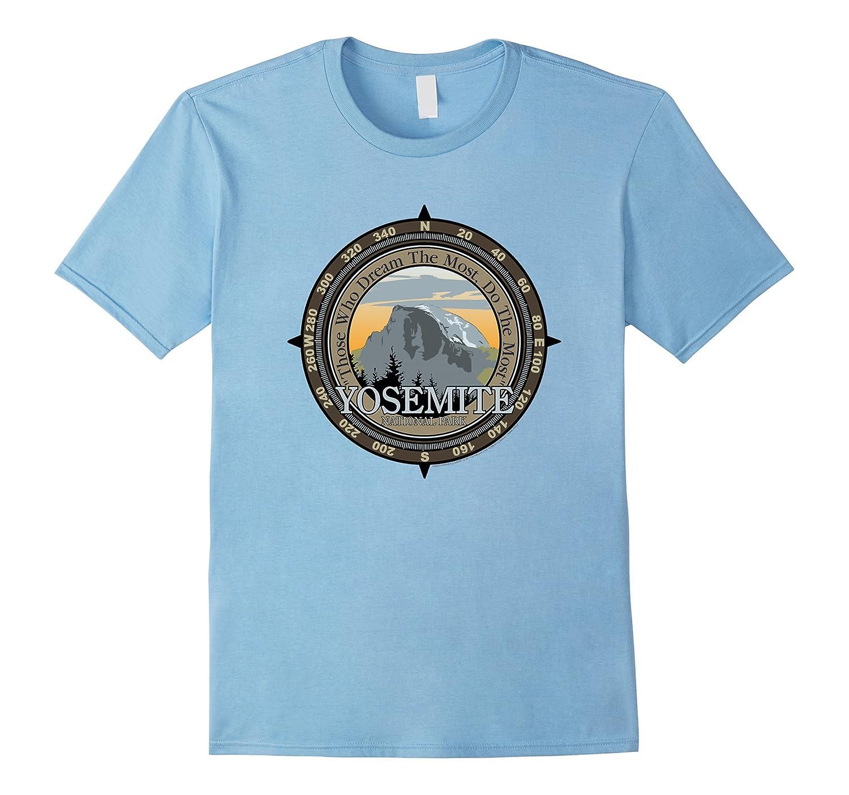 Yosemite National Park T Shirt Hiking Tee Wanderlust-T-Shirt