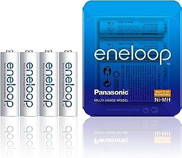 PANASONIC ENELOOP R6/AA 1900MAH, 4 PCS, Sliding Pack: Amazon.es: Electrónica