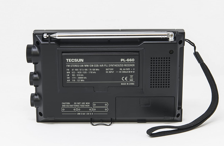 Amazon.com: Tecsun PL-660 Portable AM/FM/LW/Air Shortwave World Band Radio  with Single Side Band, Black: Home Audio & Theater