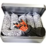 Emergency Fire Starter Magnesium 6 Bags 99.99% Pure & Storm Proof Matches Camping Hiking Bushcraft +1 Free Tin Box