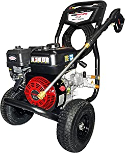 Simpson Cleaning CM61083 3400 PSI at 2.5 GPM Clean Machine Cold Water Residential Gas Pressure Washer