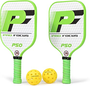 Pro Focus Pickleball Paddles Doubles Pickleball Paddle Set