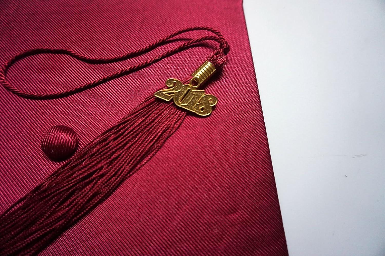 Grad Days Shiny Adult Unisex Graduation Cap with Tassel 2020 Year Charm