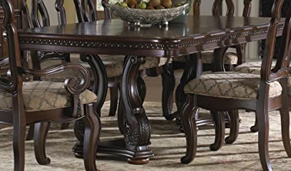 Amazon Com Pulaski San Marino Pedestal Dining Table Tables
