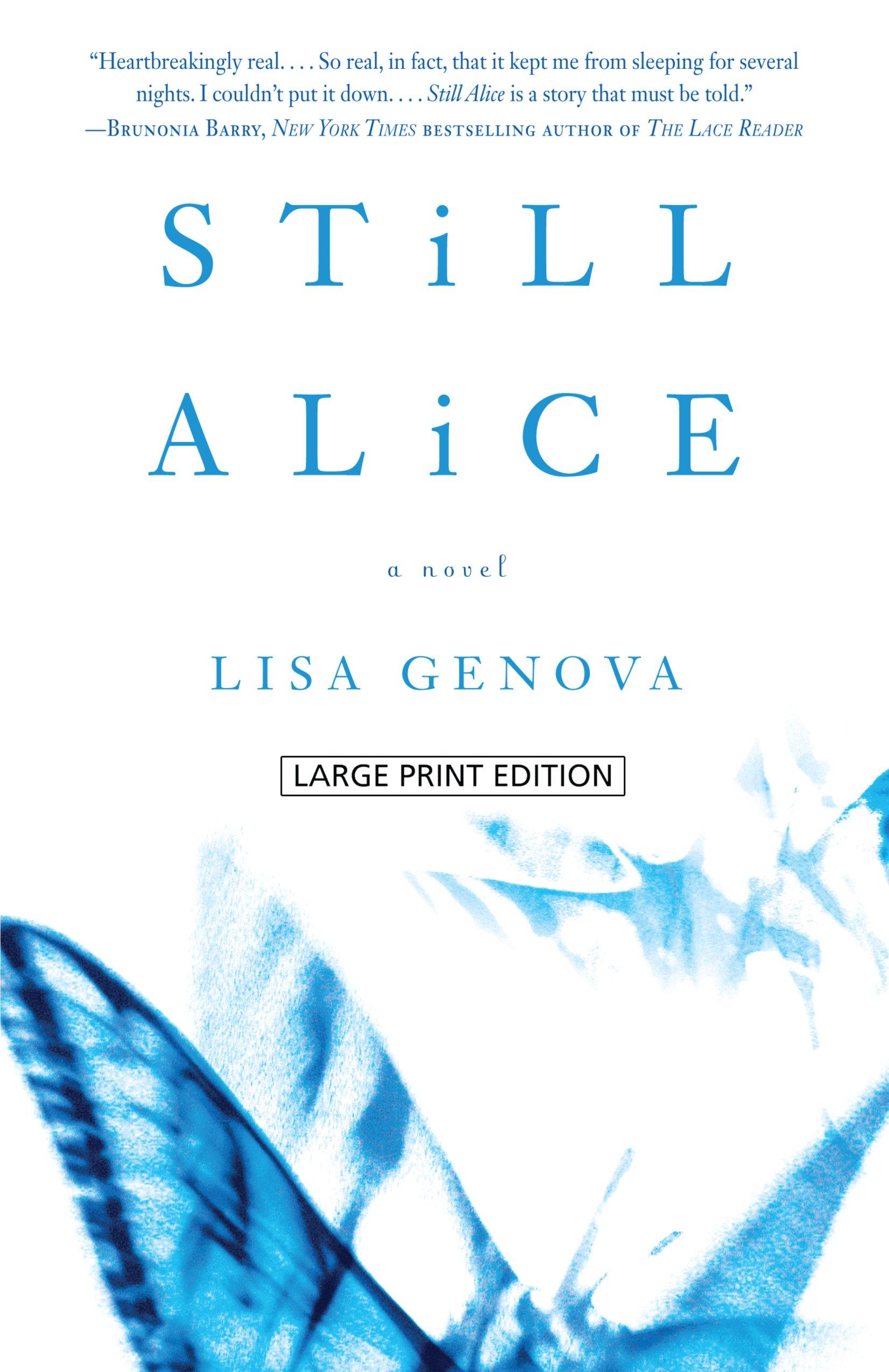 Read Online Still Alice (Wheeler Publishing Large Print Hardcover) pdf