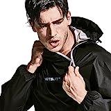 RDX Fitness Capuche Combinaison Sudation Survêtement Sauna Suit Perte De Poids