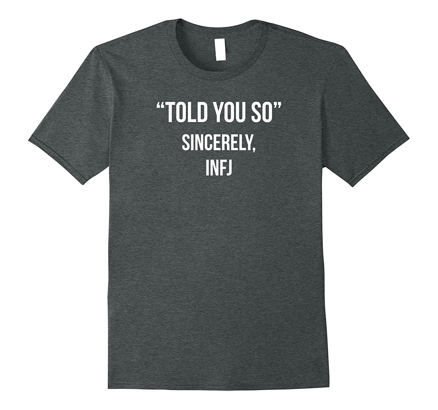 Womens Sincerely Intuitive Personality Shirt-Teechatpro