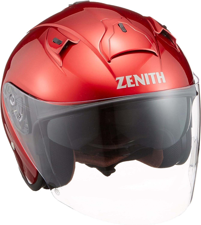 ヤマハ(YAMAHA) バイクヘルメット ジェット YJ-14 ZENITH 90791-2288M キャンディーレッド M (頭囲 57cm~58cm)