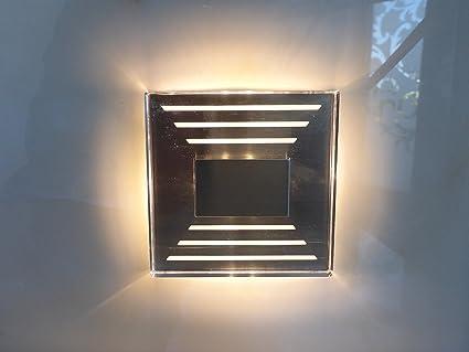 3 x IP44 Diseño LED Escaleras Iluminación pared Foco 230 V 3000 K Cálida Trango tgsl de 013: Amazon.es: Iluminación