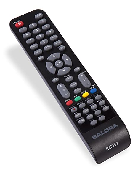 salora telecomando  Salora P2TAT360430162 Pulsanti Nero telecomando: : Elettronica