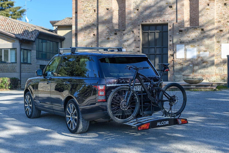 MENABO per 3 Biciclette E-Bike Portabici da Gancio Traino