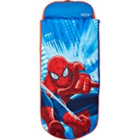 Homewares 406SMN Marvel Spider-Man Junior ReadyBed- 2 in 1 Kids Sleeping Bag and Inflatable air Bed in a Bag with a Pump…