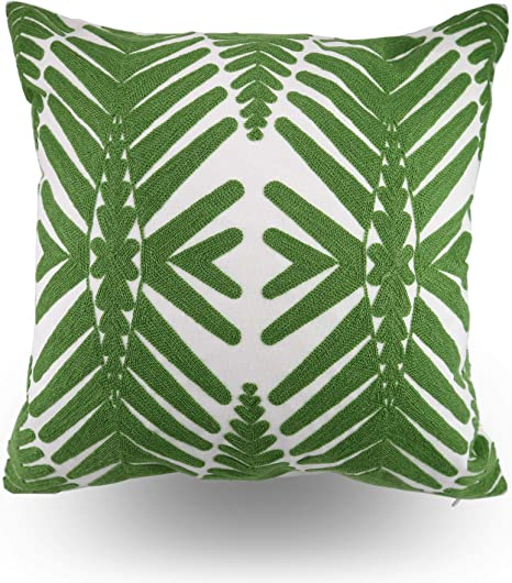 Amazon Com Hodeco Tropical Leaf Embroidery Throw Pillow Covers 18x18 Inches Decorative Floor Pillow Cover For Couch Green Leaf 100 Cotton Cushion Cover Symmetric Palm Leaves Embroidered 45x45cm 1 Piece Home Kitchen Your email address will not be published. hodeco tropical leaf embroidery throw pillow covers 18x18 inches decorative floor pillow cover for couch green leaf 100 cotton cushion cover