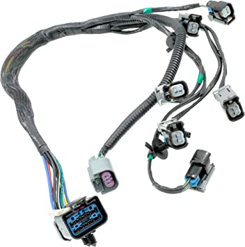 Amazon.com: APDTY 022190 Fuel Rail Fuel Injector Wiring Pigtail Connector  Complete Harness Fits 2001-2003 V6 3.3L or 3.8L / Grand Voyager/Town &  Country/Grand Caravan (Replaces 4868408AC, 4868408AD): AutomotiveAmazon.com