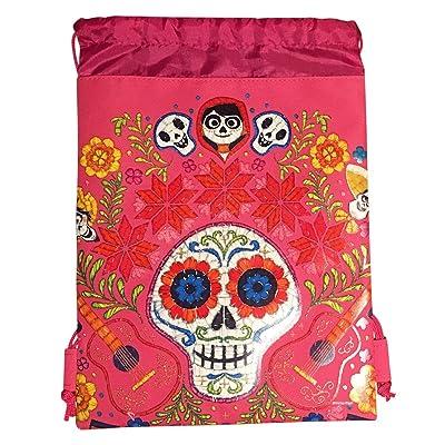 f2d5b6f13ae low-cost Disney COCO Drawstring Backpack PIXAR Licensed Sling Tote Gym Bag  Remember Me (