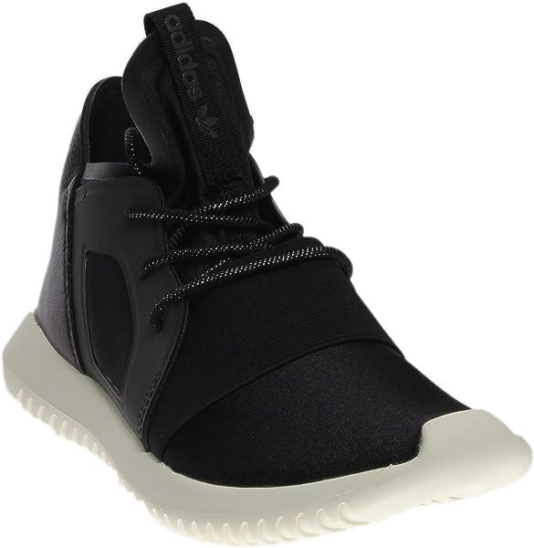brand new 4b2f7 78df4 adidas Tubular Defiant W Womens Fashion-Sneakers S75896 BlackBlack-White