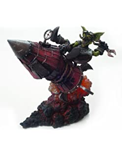 World of Warcraft: Serie 6: Goblin Tinker: Figura Gibzz Sparklighter Acción