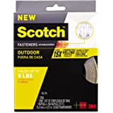 Scotch Strong Heavy Duty Fasteners, 1 Inch x 15 Ft., Clear with (RF5760)