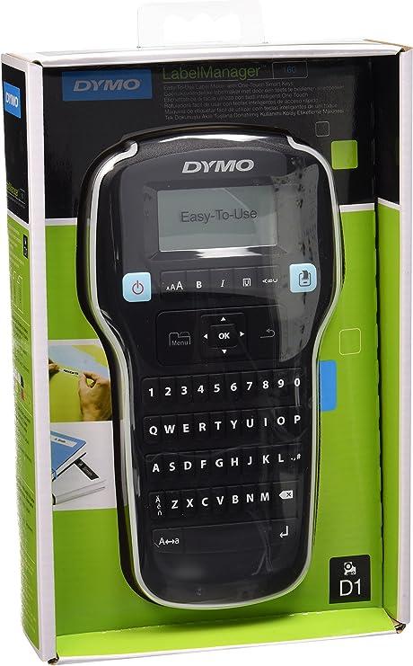 Dymo LabelManager 160 Impresora de etiquetas, Teclado QWERTY ...