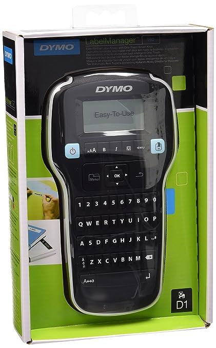 Dymo LabelManager 160 Impresora de etiquetas, Teclado QWERTY (Versión Española)
