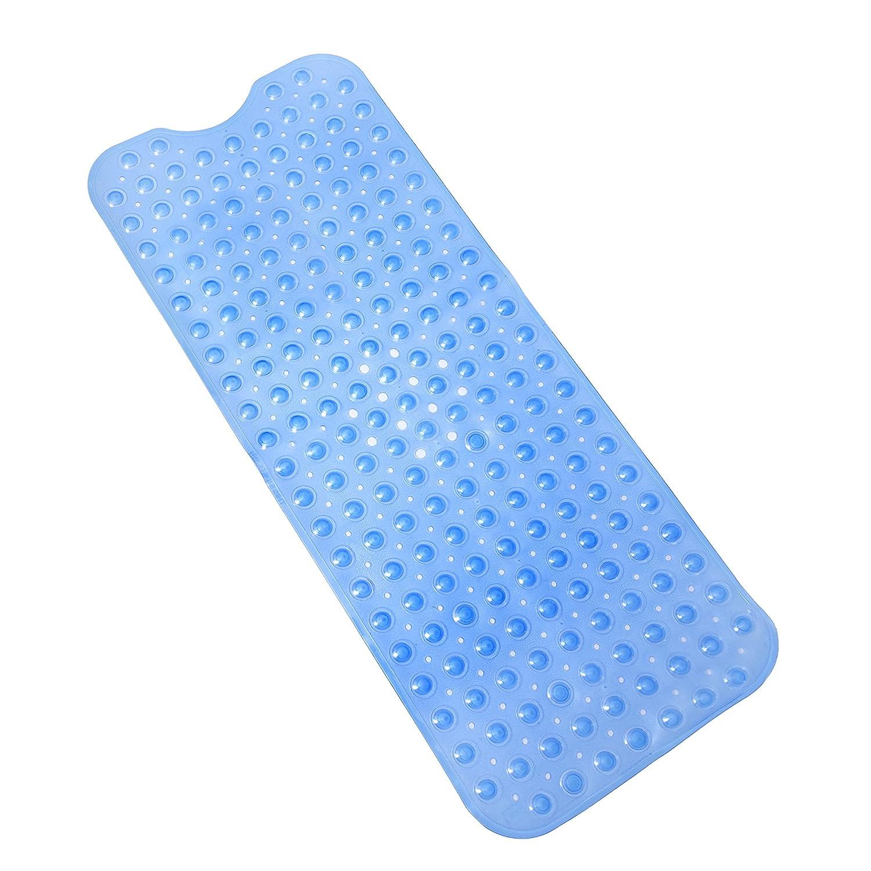 Amazon.com: Tushies & Toes Divine Bath Mat, Extra Long, Blue ...
