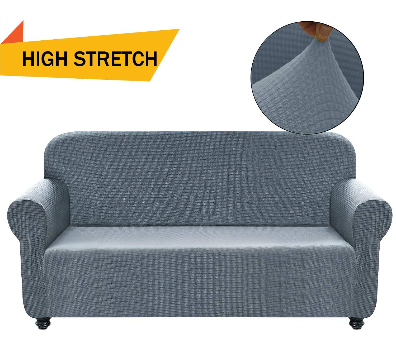 Amazon Com Chelzen Stretch Sofa Covers Polyester Spandex Fabric