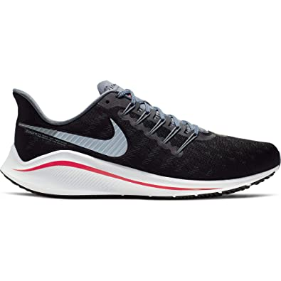 Nike Men's Air Zoom Vomero 14 Running Shoe BlackBright CrimsonArmory Blue Size 14 M US