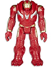"MARVEL AVENGERS - 12"" Hulk Buster Power FX Figurine -Titan Hero Series Action Figures - Kids Toys - Ages 4+"