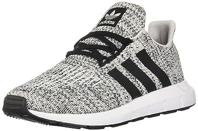 brand new 2c074 49c07 adidas Originals Kids Boy s Swift Run J (Big Kid) Grey Black 3.5 M