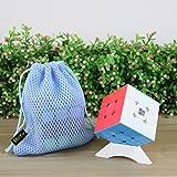 MoYu WeiLong GTS 2M Magic Speed Cube, avec un sac cube et un support cube (Stickerless)