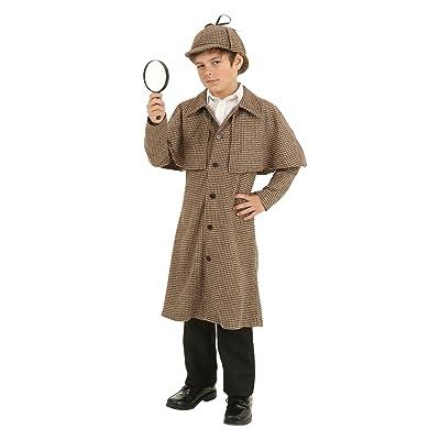 Child Sherlock Holmes Costume: Clothing