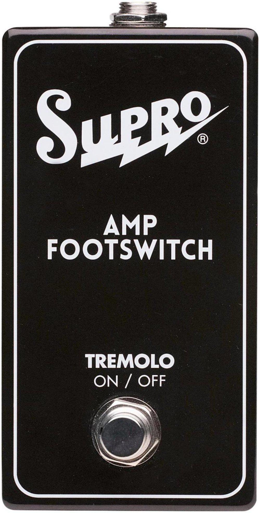 Supro SF1 Tremolo On/Off Switch for Dual-Tone, Coronado and Black Magick by Supro (Image #1)