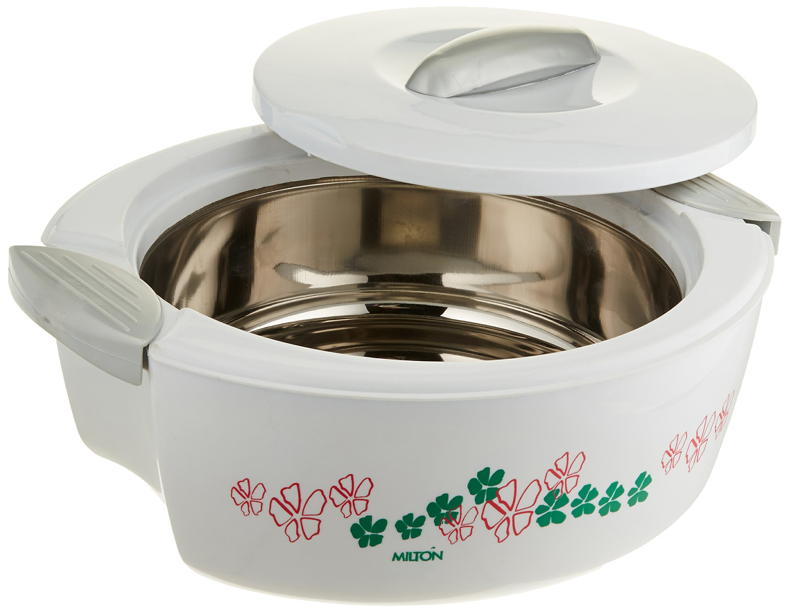 MILTON SAVOUR 2.5-Liter Keep Warm/Cold Insulated Hot Pot Thermo Casserole, Small, White