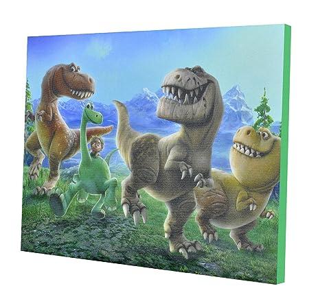 Amazon.com: Disney Good Dinosaur Canvas LED Wall Art: Toys & Games