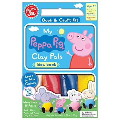 Klutz Jr. My Peppa Pig Clay Pals Craft Kit: Klutz: Toys & Games