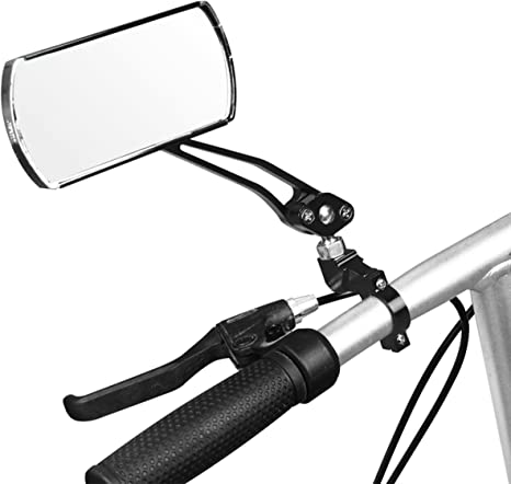 Bike Mirror Mountain Bicycle Rearview End Rear Back New View G8M3