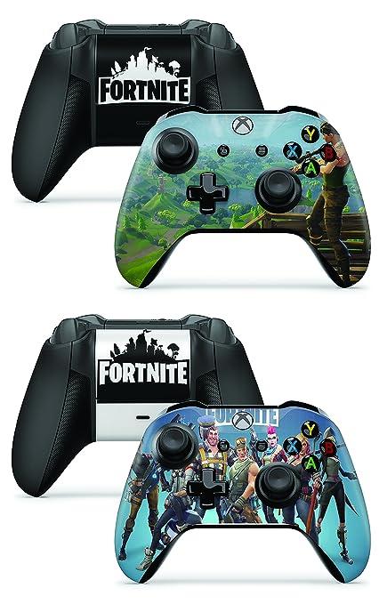 Amazon Com Gizmoz N Gadgetz Gng 2 X Fortnite Xbox One X Controller