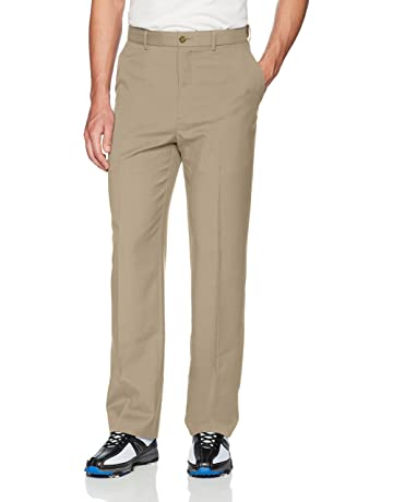 7ca9ef6b10db5 PGA TOUR Men's Flat Front Golf Pant with Expandable Waistband