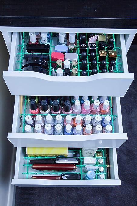 Missorg Separateurs De Tiroirs Pour Ikea Alex 5 Tiroirs Organiseur De Maquillage En Acrylique Aspect Verre Amazon Fr Bagages