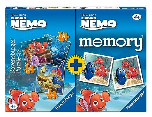 7 opinioni per Ravensburger 07344 3- Nemo Multipack, 3 Puzzle + 1 Memory