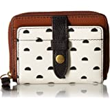 Fossil Women's Fiona Leather Zip Around Coin Wallet