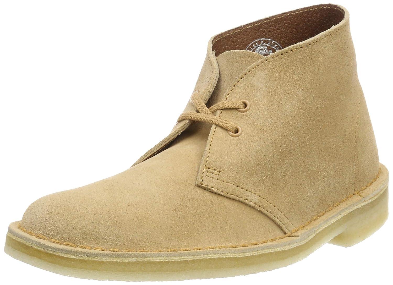 Braun (Light Tan Suede.) Clarks Originals Damen Stiefel-261388224 Desert Stiefel