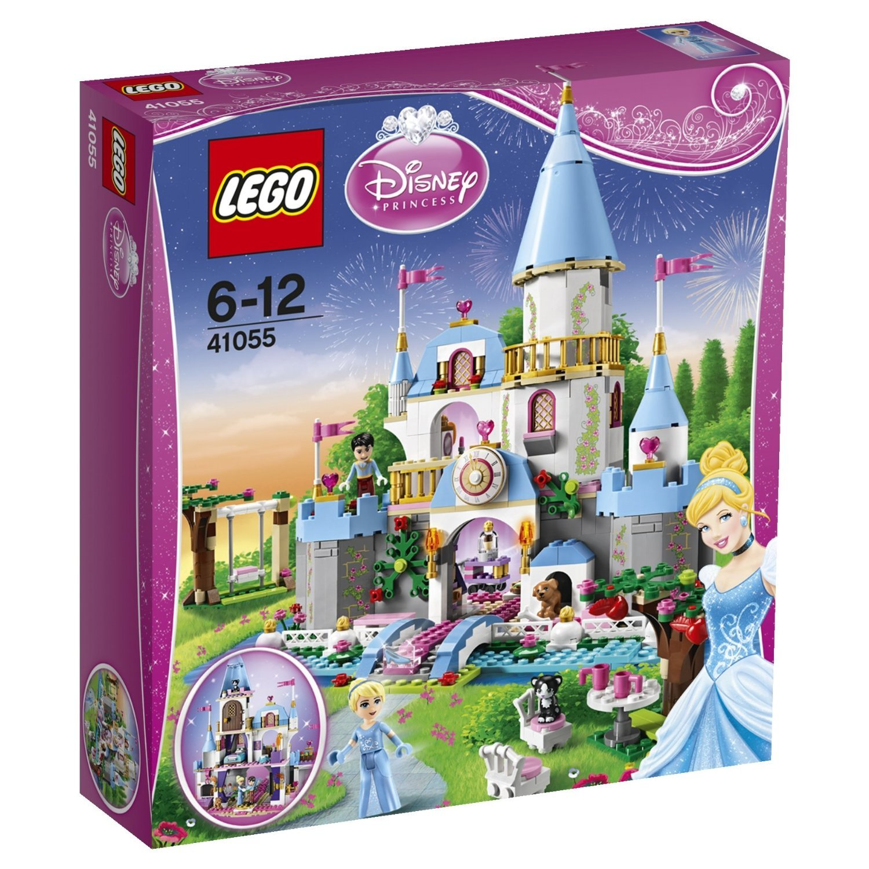 Charming Cinderella's Romantic Castle Building Set