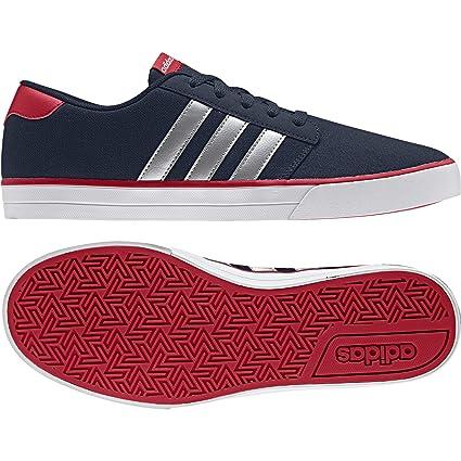 Adidas VS Skate - Zapatillas Skate para Hombre, Azul - (Maruni/Plamat/