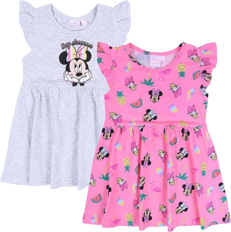 Minnie Mouse -:- Disney -:- 2X Vestido Gris y Rosa 5-6 años ...
