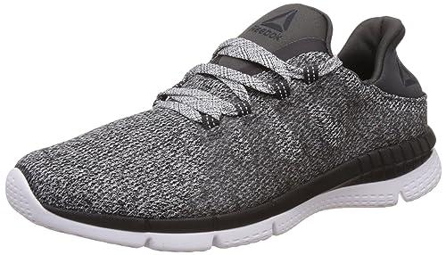 febfd926876c Reebok Women s Zprint Her MTM Epm Coal and White Running Shoes -4 UK India